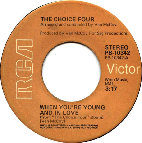 The Choice Four When You're Young And In Love