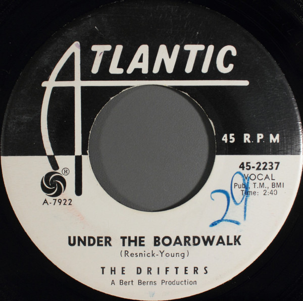 Drifters - Under The Boardwalk Record