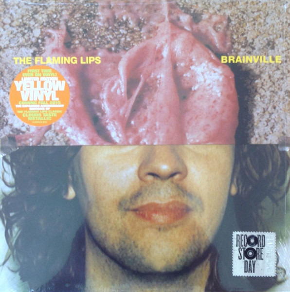 THE FLAMING LIPS - Brainville (RSD 2015 - YELLOW VINYL) - 10 inch