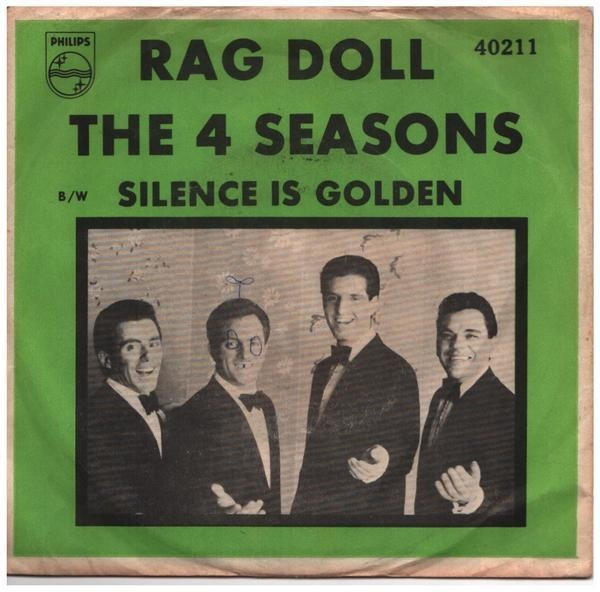 #<Artist:0x007f3b61145318> - Rag Doll / Silence Is Golden