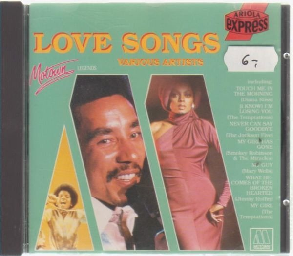 The four tops,Marvin Gaye,Michael Jackson,u.a Motown Legends: Love Songs