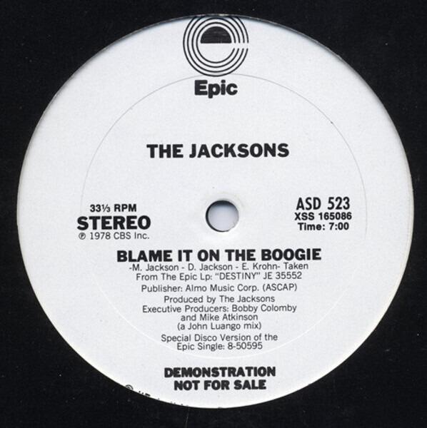 #<Artist:0x007ff75c33b250> - Blame It On The Boogie