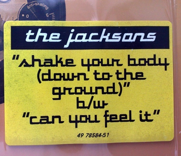 #<Artist:0x007f37808a1308> - Shake Your Body (Down To The Ground) / Can You Feel It