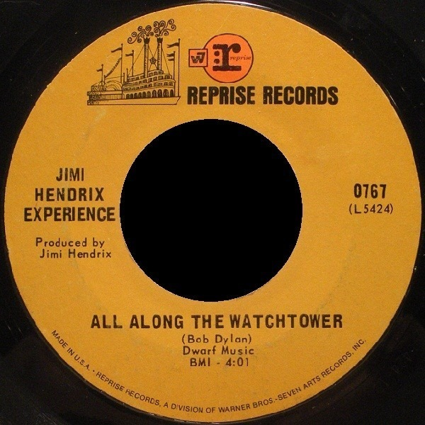 The Jimi Hendrix Experience All Along The Watchtower