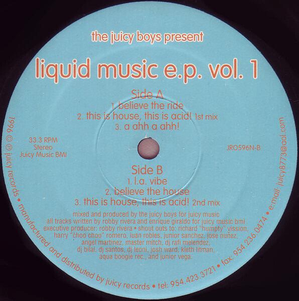 Liquid Music Ep Vol 1