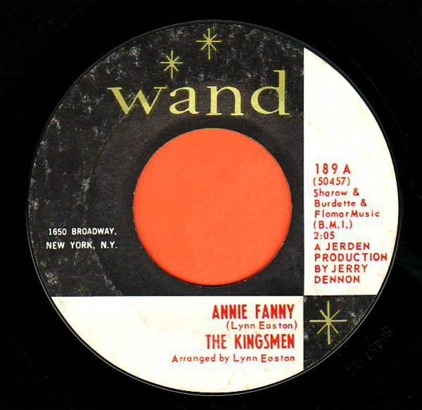 The Kingsmen Annie Fanny / Give Her Lovin'
