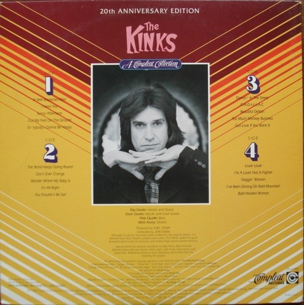 The Kinks a compleat collection 20th anniversary edition (still sealed)