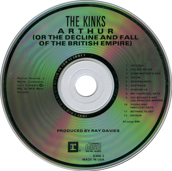 The Kinks Arthur (Or The Decline And Fall Of The British Empire) (SRC)