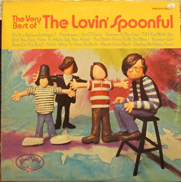 #<Artist:0x00007f4e0da25cd0> - The Very Best Of The Lovin' Spoonful
