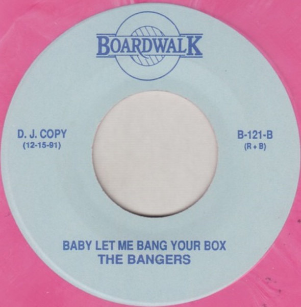 THE MAJESTICS , THE BANGERS - Girl Of My Dreams / Baby Let Me Bang Your Box (PINK VINYL) - 45T x 1