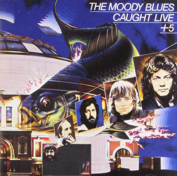 THE MOODY BLUES - Caught Live +5 (BESTWAY PRESS) - 33T x 2