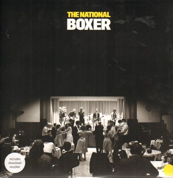 THE NATIONAL - Boxer (YELLOW VINYL) - LP + bonus