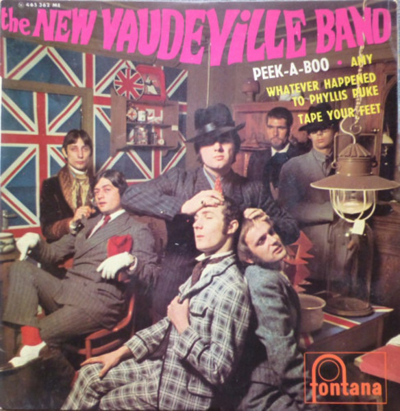 the new vaudeville band peek-a-boo (original french ep)