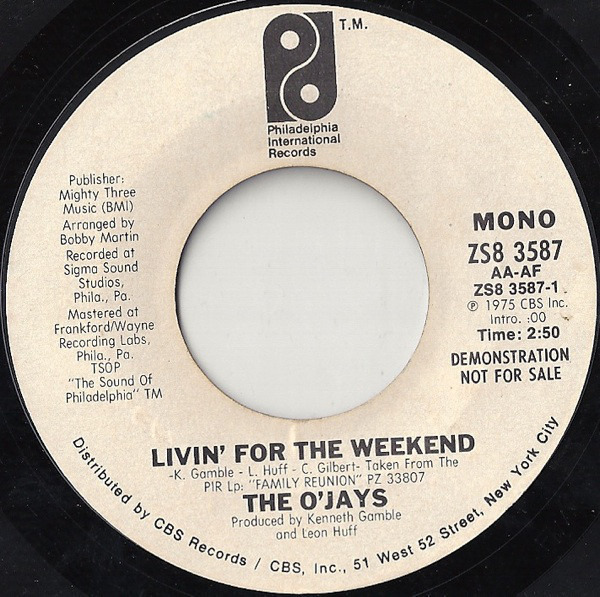 #<Artist:0x007f821c7125c8> - Livin' For The Weekend