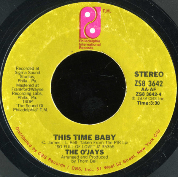 #<Artist:0x007fcf57b3c530> - Use Ta Be My Girl / This Time Baby