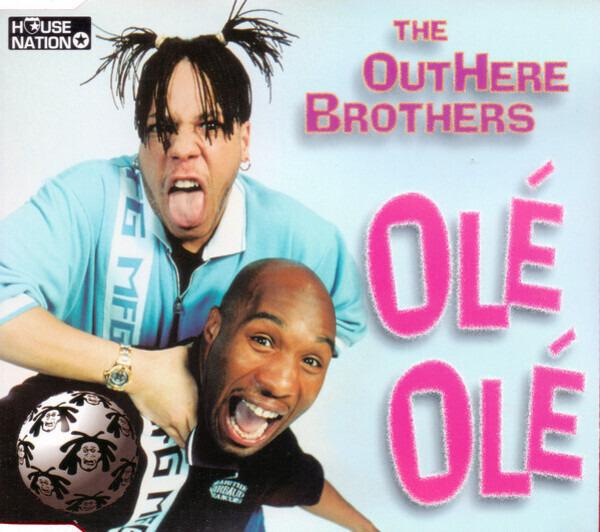 THE OUTHERE BROTHERS - Olé Olé - MCD