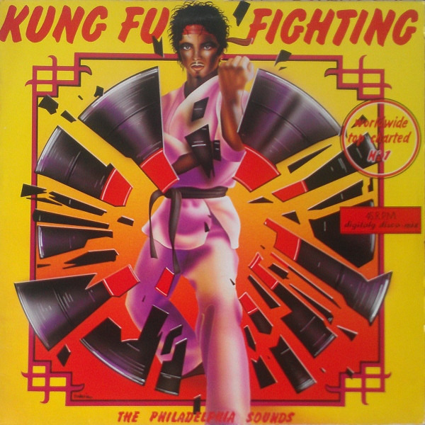 THE PHILADELPHIA SOUNDS - Kung Fu Fighting - Maxi x 1