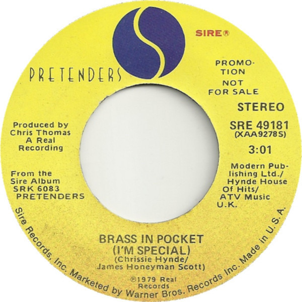 The Pretenders Brass In Pocket (I'm Special)