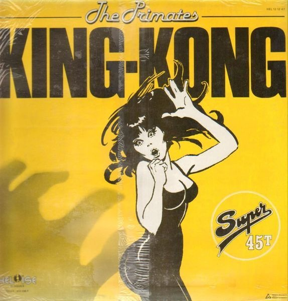 THE PRIMATES - King-Kong - 12 inch x 1