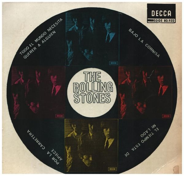 The Rolling Stones Everybody Needs Somebody To Love (ORIGINAL SPANISH EP)