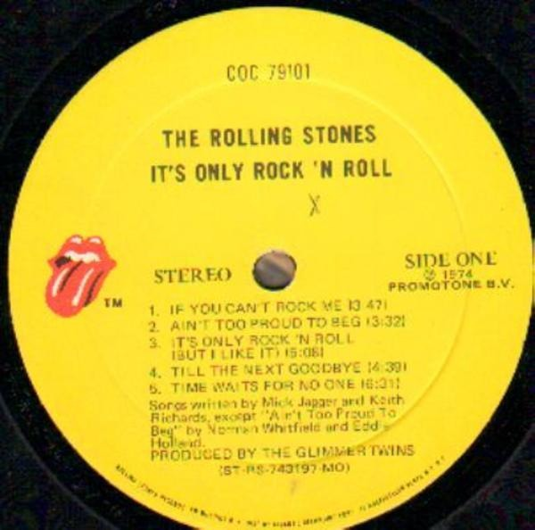 The Rolling Stones It's Only Rock 'N Roll