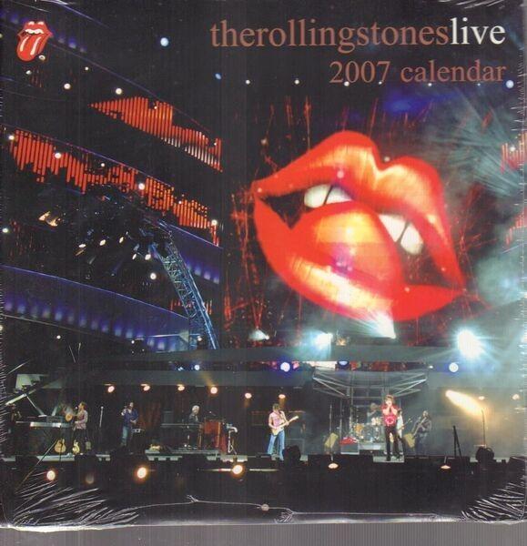 THE ROLLING STONES - LIVE 2007 Calendar - Calendrier