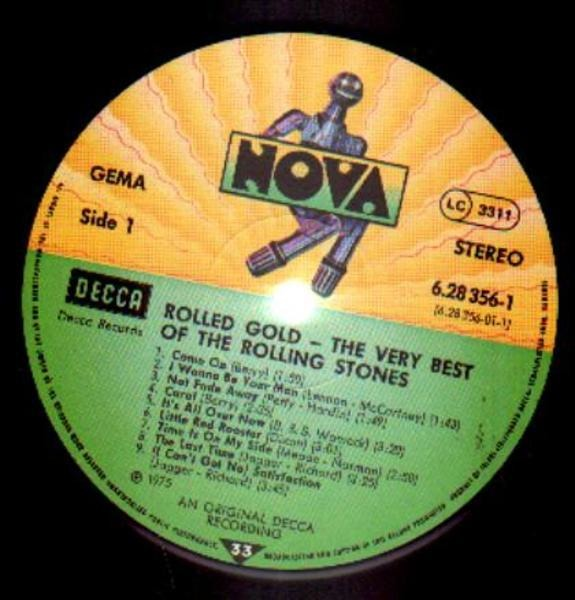 Rolling Stones Rolled Gold - The Very Best Of The Rolling Stones