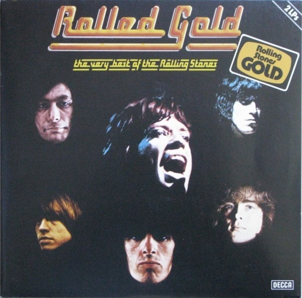 The Rolling Stones Rolled Gold - The Very Best Of The Rolling Stones (RED DECCA)