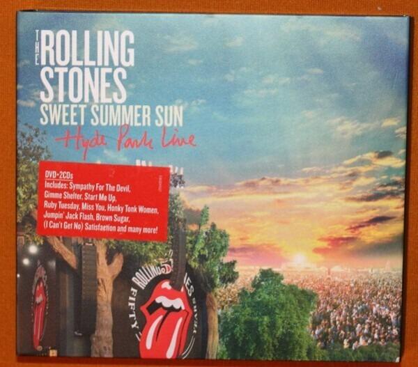 The Rolling Stones Sweet Summer Sun Hyde Park Live Vinyl
