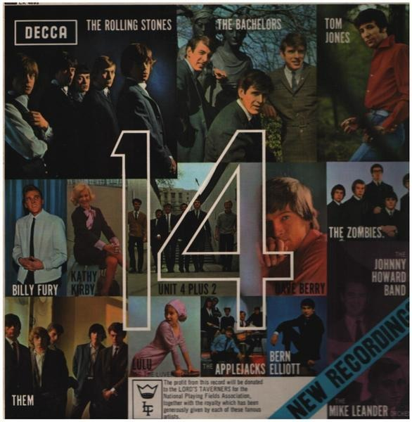 The Rolling Stones, Them, The Zombies a.o. 14 (ORIGINAL 1ST UK MONO)