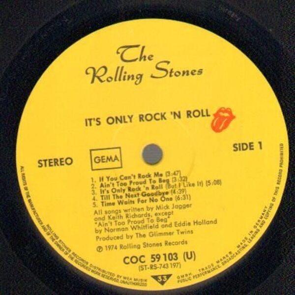 #<Artist:0x007efd2e1a1b20> - It's Only Rock 'N Roll