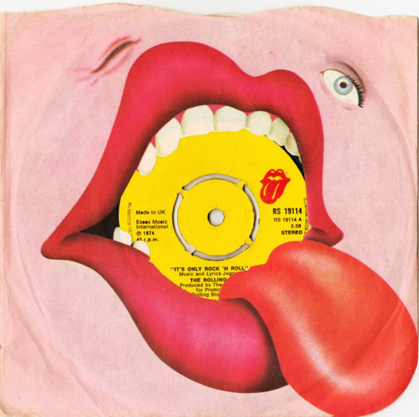 The Rolling Stones It's Only Rock 'N Roll (PUSH-OUT CENTRE)