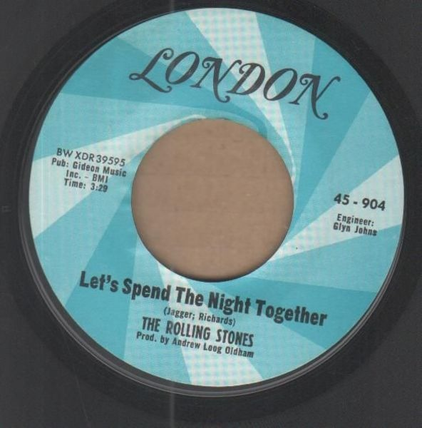 The Rolling Stones Let's Spend The Night Together / Ruby Tuesday