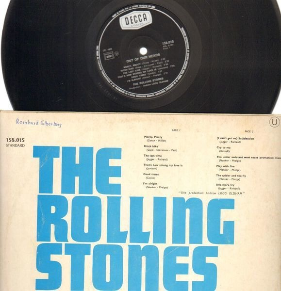 The Rolling Stones Out Of Our Heads (FRANCE)