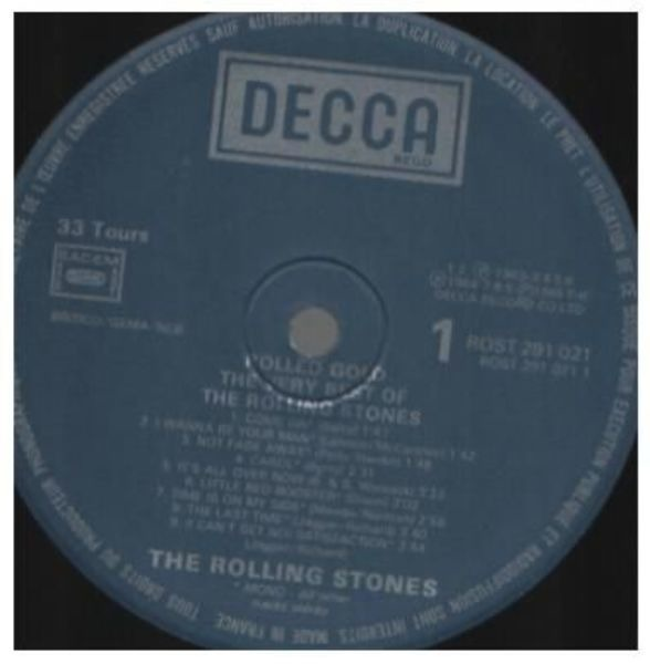 The Rolling Stones Rolled Gold - The Very Best Of The Rolling Stones (FRANCE)