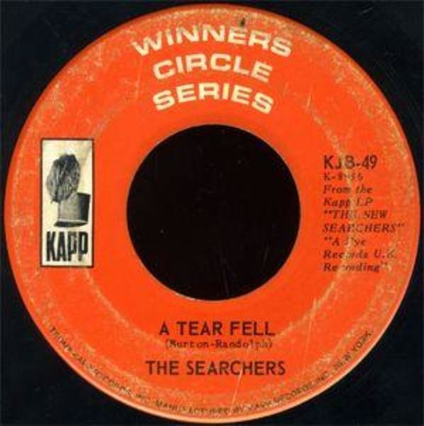 The Searchers A Tear Fell / Bumble Bee