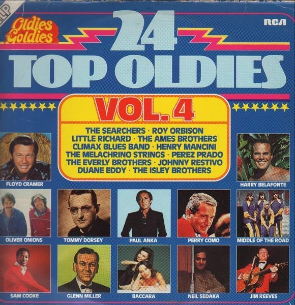 The Searchers, Roy Orbison a.o. 24 Top Oldies Vol. 4