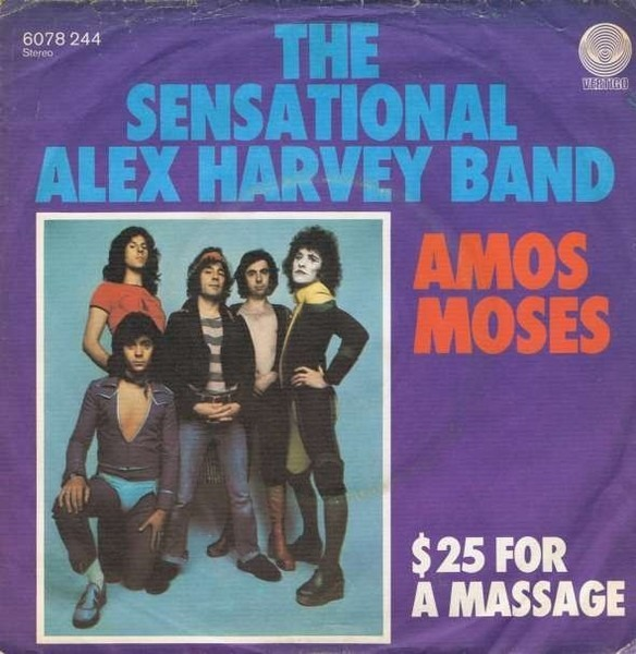 The Sensational Alex Harvey Band Amos Moses