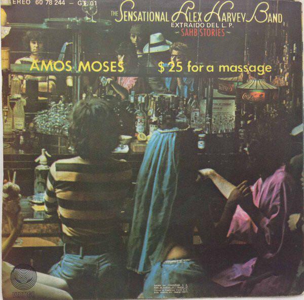 The Sensational Alex Harvey Band Amos Moses