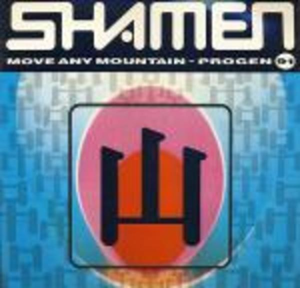 The Shamen Move Any Mountain - Progen 91 Vinyl Single 12inch NEAR MINT