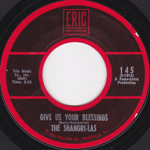 The Shangri-Las Remember (Walkin' In The Sand) / Give Us Your Blessings (MONO)
