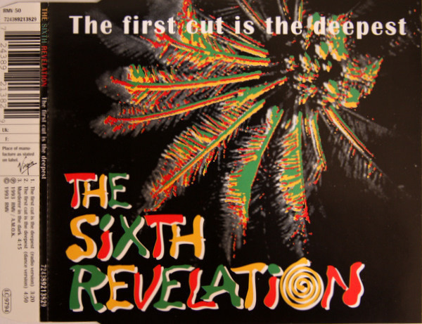 THE SIXTH REVELATION - The First Cut Is The Deepest - CD single