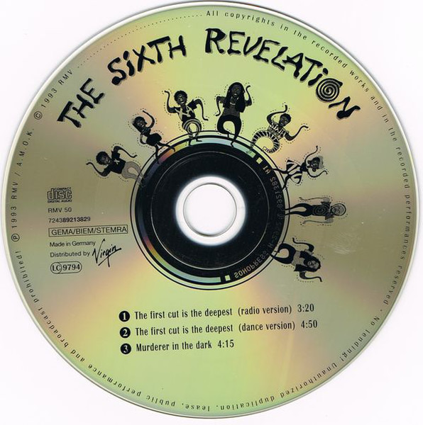 The Sixth Revelation The First Cut Is The Deepest