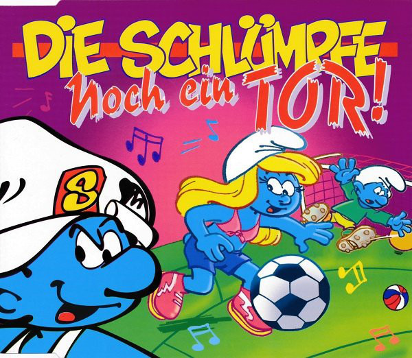 THE SMURFS - Noch Ein Tor! - CD single