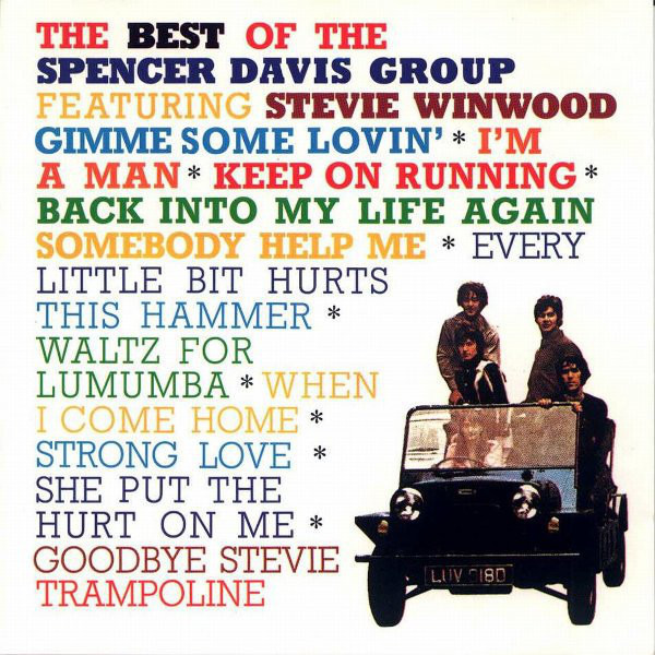 #<Artist:0x00007f4e0fdc0b18> - The Best Of  Spencer Davis Group Featuring Steve Winwood