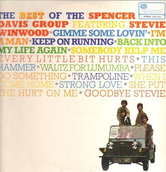 #<Artist:0x00007f651f63fd40> - The Best Of  The Spencer Davis Group Featuring Steve Winwood