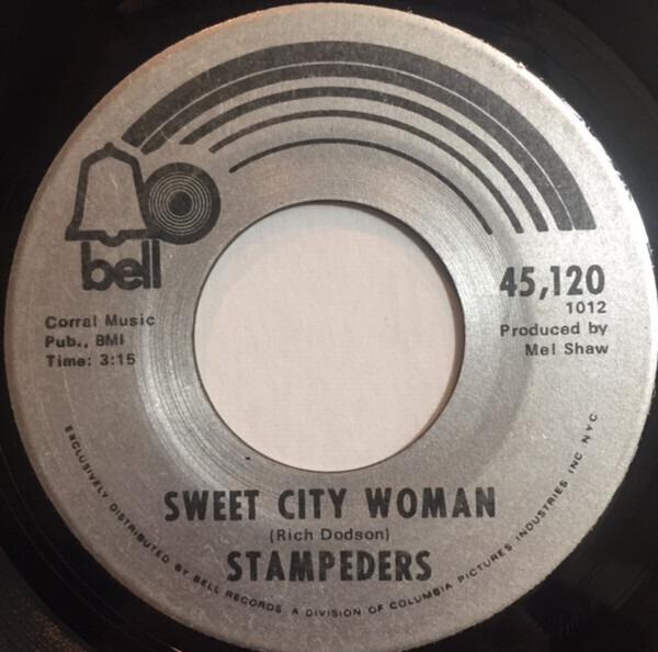 Stampeders - Sweet City Woman / Gator Road LP
