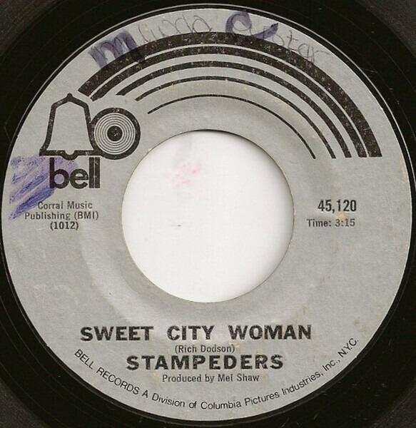 Stampeders - Sweet City Woman / Gator Road CD