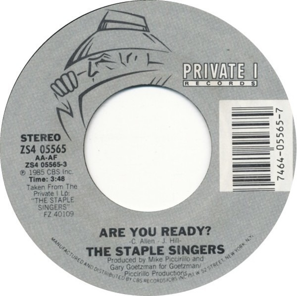 The Staple Singers Are You Ready