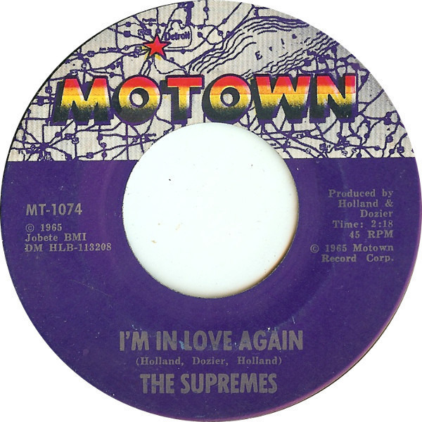 the supremes stop! in the name of love